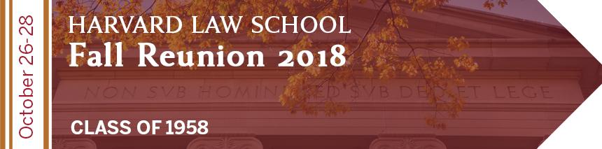 Harvard Law School Class of 1958