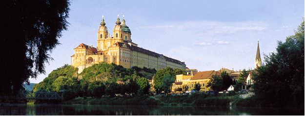 Europe River Cruise - Melk Abbey, Austria