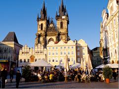 Prague extension - Olt Town square, Prague, Czech Republic
