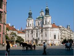 Prague extension - St. Nicholas church, Prague, Czech Republic