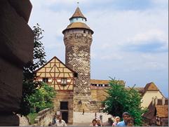 Europe River Cruise - Nuremberg Imperial Castle, Germany