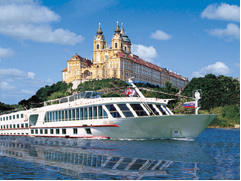 Europe River Cruise - sailing past Melk Abbey