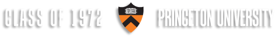 Class of 1972 Princeton 