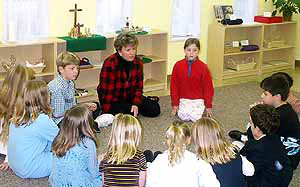 Godly Play at St. Marys Episcopal Church